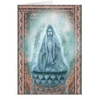 Kuan Yin greeting card