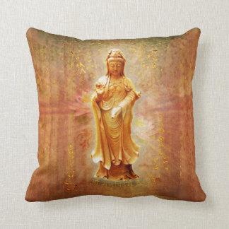 Kuan Yin Throw Pillows