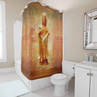 Kuan Yin Shower Curtain