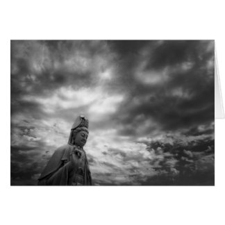 Kuan Yin Statue Fine Art Photograph Card