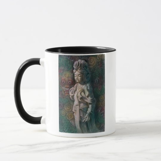 Kuan Yin's Dragon Art Mug