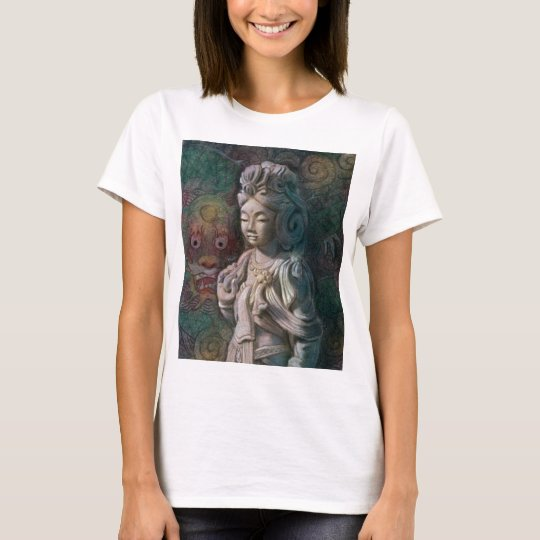 Kuan Yin's Dragon Art T-Shirt