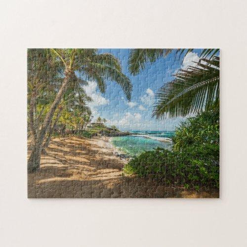 Kuau Cove Beach  Maui Hawaii Jigsaw Puzzle