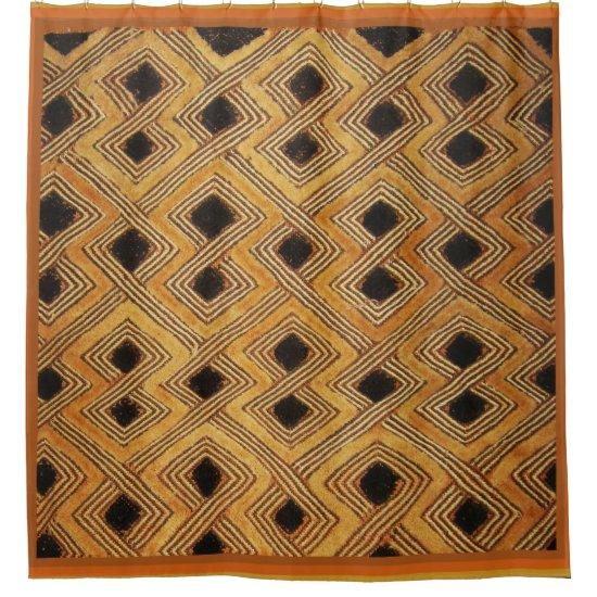 Kuba Tribal Shower Curtain