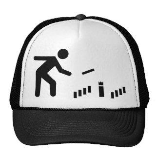 Kubb player trucker hat