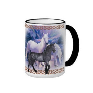 Kubek dla miłośników koni ringer mug