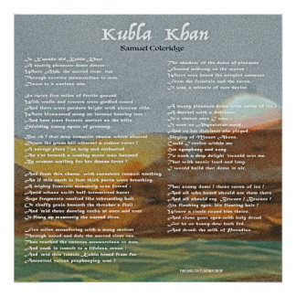 Kubla Khan Poster