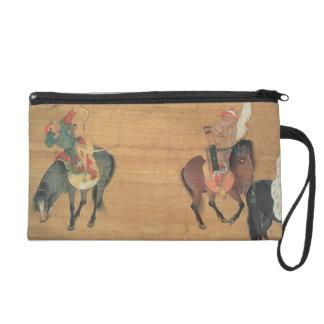 Kublai Khan (1214-94) Hunting (detail), Yuan dynas Wristlet Clutches