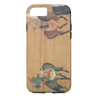 Kublai Khan (1214-94) Hunting (detail), Yuan dynas iPhone 7 Case