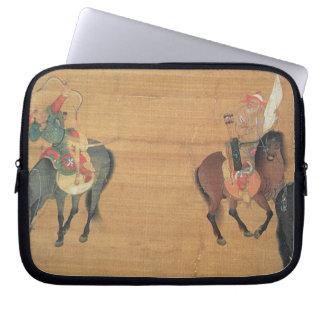Kublai Khan (1214-94) Hunting (detail), Yuan dynas Computer Sleeve
