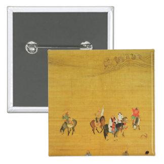 Kublai Khan  Hunting, Yuan dynasty Pinback Button