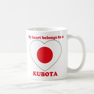 Kubota Coffee Mug