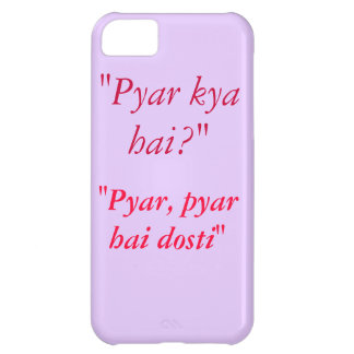 Kuch Kuch Hota Hai Quote iPhone 5C Case