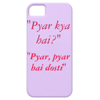 Kuch Kuch Hota Hai Quote iPhone 5S Case