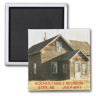 KUCHER FAMILY REUNION 2011 MAGNET