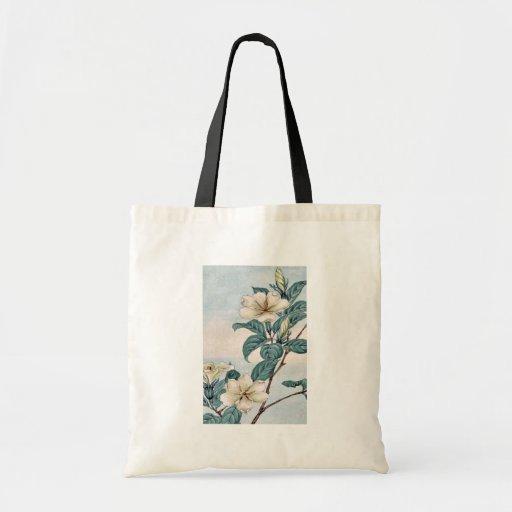 Kuchi nashi - cape jasmine / by Megata Morikaga Uk Canvas Bags