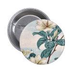 Kuchi nashi - cape jasmine / by Megata Morikaga Uk Pinback Button