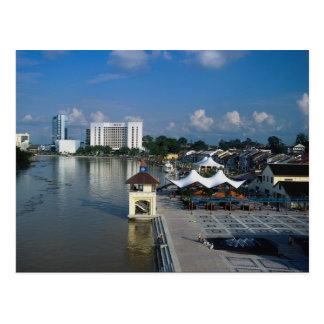 Kuching, capital of Sarawak, Malaysia Postcard