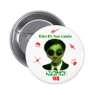 Kucinich '08 2 inch round button