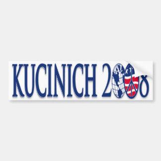 kucinich 2008 bumper sticker