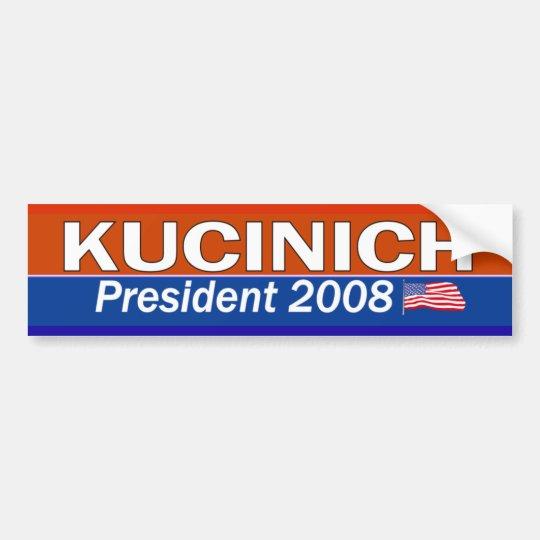 KUCINICH President Bumper Sticker