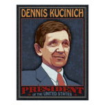 Kucinich, President Print