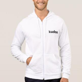Kudos® Black Logo Hoody
