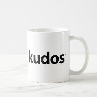 Kudos® Classic White Coffee Mug