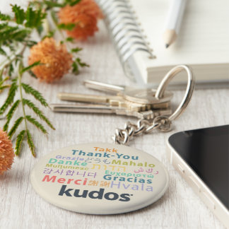 Kudos® Thank-you Keychain