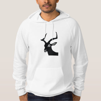 Kudu Silhouette Hooded Pullover