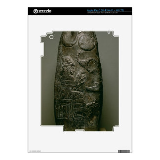 Kudurru de Nazimaruttash, rey de Babilonia, c.1328 Pegatina Skin Para iPad 3