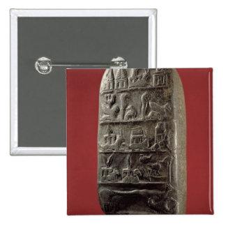 Kudurru de rey Melishikhu II Pin Cuadrado