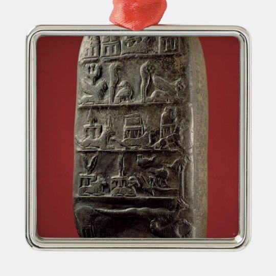 Kudurru of King Melishikhu II Metal Ornament