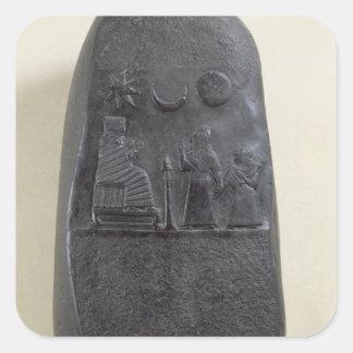 Kudurru of King Melishikhu II Square Sticker