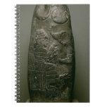 Kudurru of Nazimaruttash, King of Babylon, c.1328- Spiral Notebook