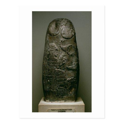 Kudurru of Nazimaruttash, King of Babylon, c.1328- Postcard