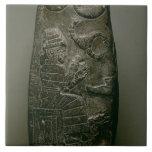Kudurru of Nazimaruttash, King of Babylon, c.1328- Ceramic Tile