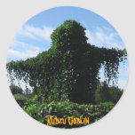 Kudzu Goblin IMG_1551, Kudzu Goblin Round Stickers
