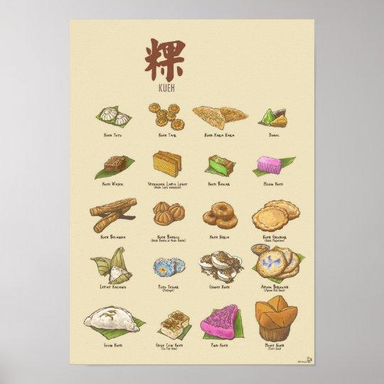 Kueh | 粿 II (A3) Poster