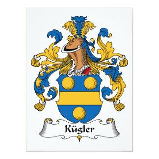 Kugler Family Crest Card