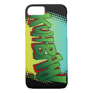 Kuh Bam! Comic Book Text Sound Effect iPhone 8/7 Case
