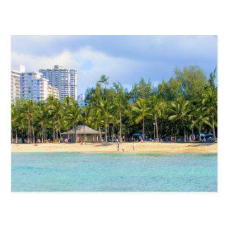 Kuhio Beach at Waikiki, Oahu, Hawaii Postcard