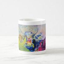 Kuhle cup: Indian Christmas cow Coffee Mug
