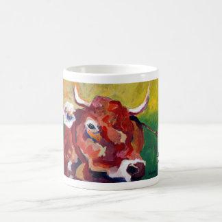 Kuhle cup: Loves cow Coffee Mug