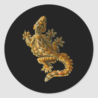 Kuhl's Flying Gecko Classic Round Sticker