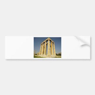 kuil yunani bumper sticker