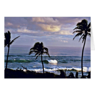 Kuilima Point - Oahu Greeting Card