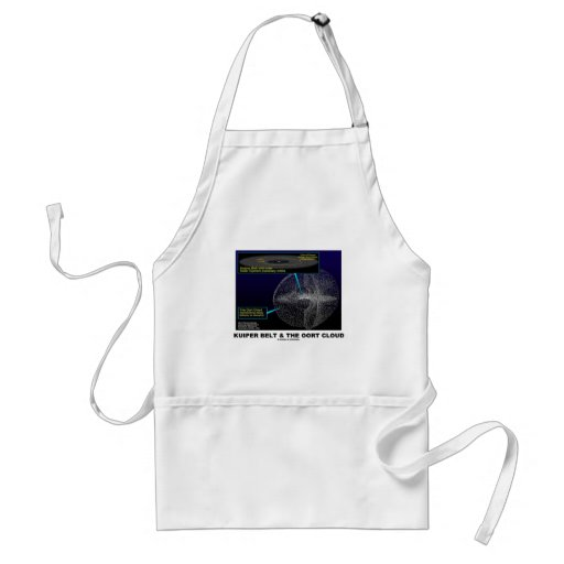 Kuiper Belt and The Oort Cloud (Astronomy) Adult Apron