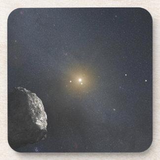 Kuiper Belt Object - Artists Concept Drink Coaster