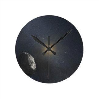 Kuiper Belt Object - Artists Concept Round Clock